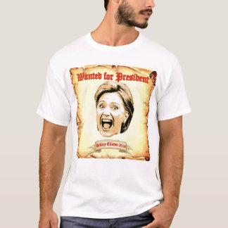 Hillary Clinton 2016 querida para la camiseta del