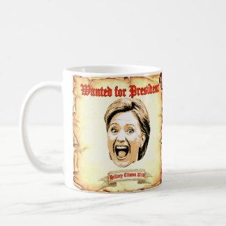 Hillary Clinton 2016 querida para la taza del