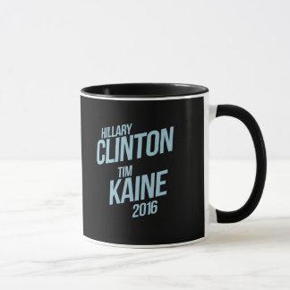 Hillary Clinton Tim Kaine 2016 - señalización - Taza