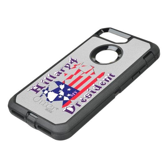 Hillary los E.E.U.U. para el presidente somos más Funda OtterBox Defender Para iPhone 7 Plus