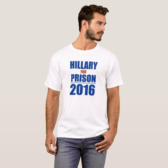 Hillary para el republicano 2016 de la camiseta de