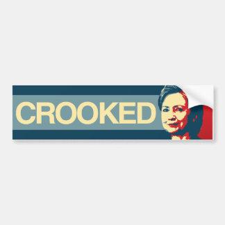 HILLARY TORCIDA - propaganda de Anti-Hillary - - Pegatina Para Coche
