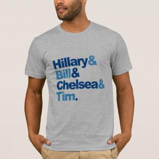 Hillary y Bill y Chelsea y Tim Camiseta