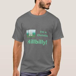 Hillbilly cristiano camiseta