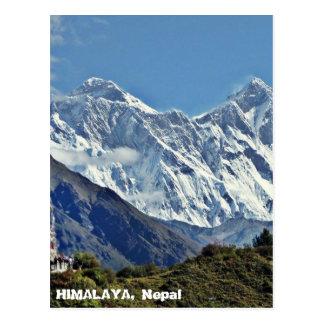 HIMALAYA - una de 1000 visiónes desde NEPAL Postal