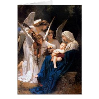 Himno de la cuna de la Virgen Tarjeta Pequeña