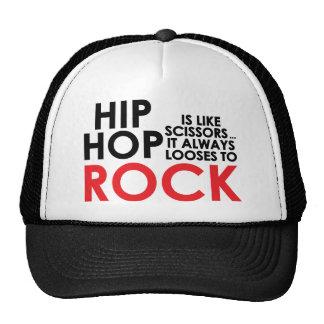 Hip Hop contra roca Gorros Bordados