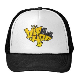 Hip-hop logotipo gorras