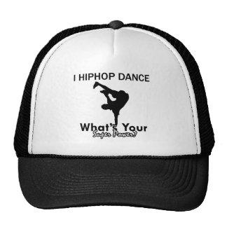 Hip Hop que baila diseños Gorras