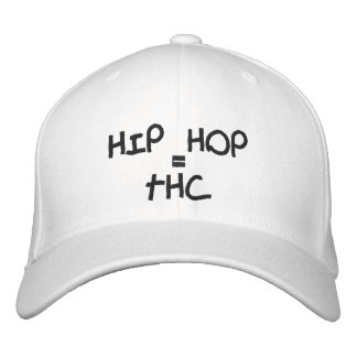 HIP HOP, =, THC GORRAS DE BEISBOL BORDADAS