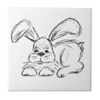 Hip Hop, un conejo de conejito Azulejo