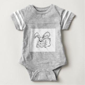 Hip Hop, un conejo de conejito Body Para Bebé