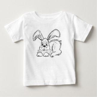 Hip Hop, un conejo de conejito Camiseta De Bebé