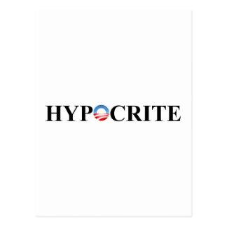 HIPÓCRITA TARJETAS POSTALES