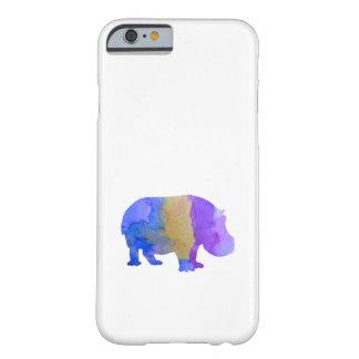 Hipopótamo Funda Barely There iPhone 6