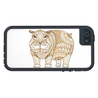 Hipopótamo Funda Para iPhone SE/5/5s