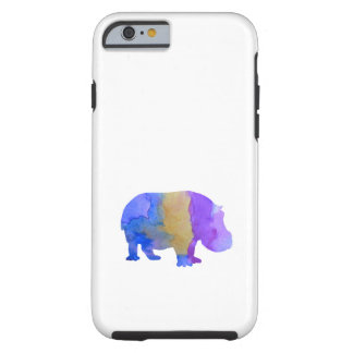 Hipopótamo Funda Resistente iPhone 6