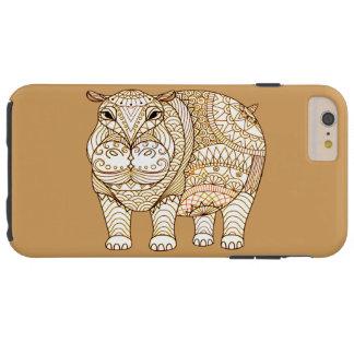 Hipopótamo Funda Resistente iPhone 6 Plus