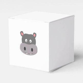 hipopótamo lindo caja de regalos