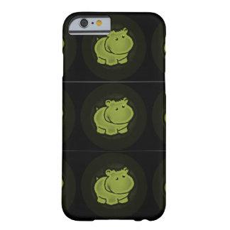 Hipopótamo lindo funda barely there iPhone 6