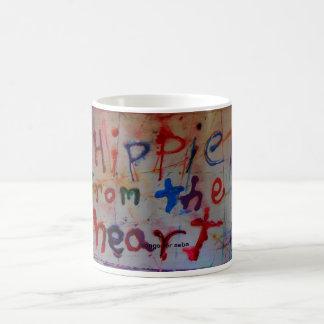 hippie de las tazas del extracto del corazón