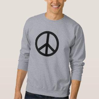 Hippie del símbolo del inconformista sudadera