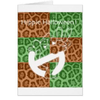 ¡HIPPIE Halloween! Tarjetón