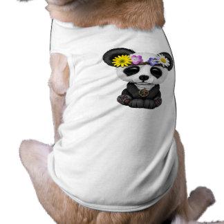 Hippie lindo de la panda del bebé