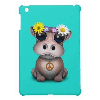 Hippie lindo del hipopótamo del bebé