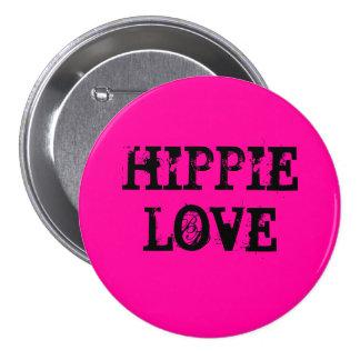 hippie love chapa redonda de 7 cm