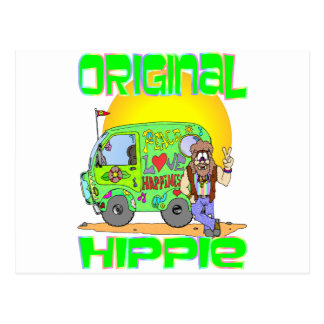 Hippie original postal