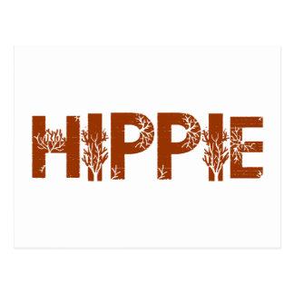 Hippie Tarjeta Postal