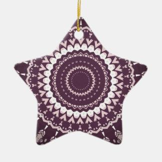 Hippie Trippy de Kris Alan Ornamento Para Arbol De Navidad