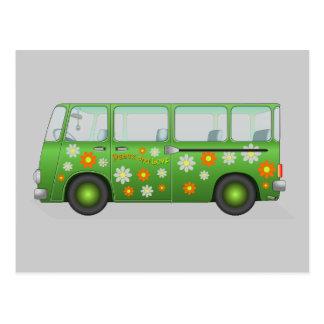 Hippie van image postal