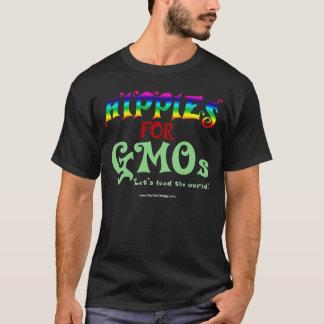 Hippies para la camiseta de la oscuridad de los
