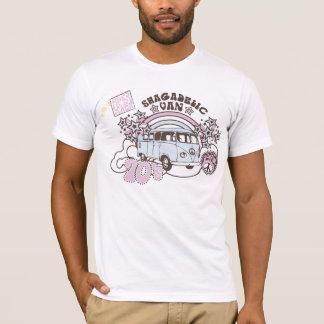 Hippy retro Van de los años 70 de Shagadelic Camiseta