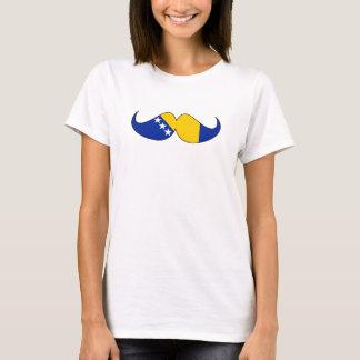 Hipster: Bosnia Y Herzegovina f Camiseta