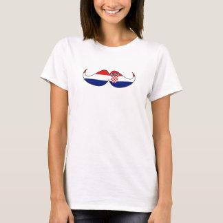 Hipster: Croacia f Camiseta