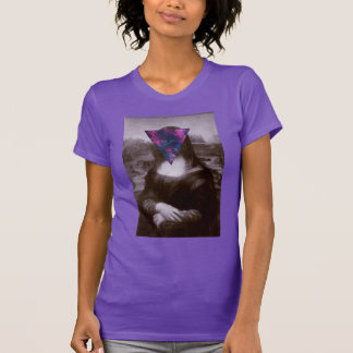 Hipster. de Mona Lisa Camiseta