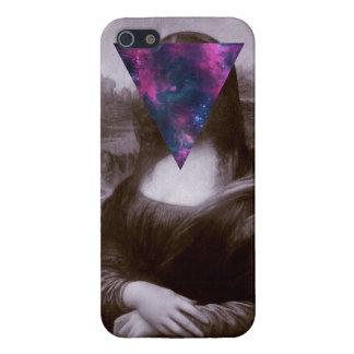 Hipster. de Mona Lisa iPhone 5 Cárcasa