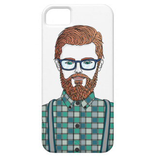hipster iPhone 5 Case-Mate fundas