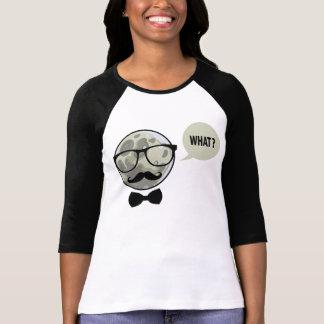 Hipster on Moon the bananaharvest - Longsleeve - Camiseta