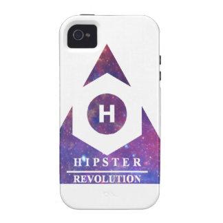 Hipster Revolución H Case-Mate iPhone 4 Carcasas
