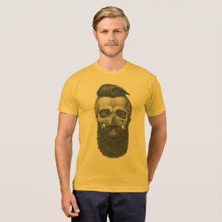 Hipster Skull Camiseta
