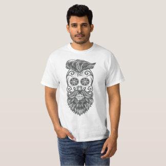 Hipster sugar skull 1 camiseta
