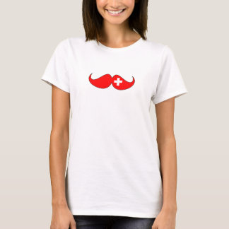 Hipster: Suiza f Camiseta