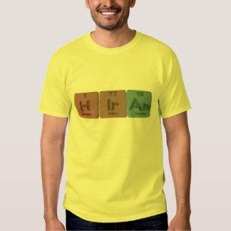 Hiram como americio del iridio del hidrógeno camisas