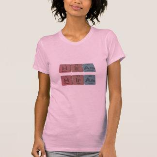 Hiram como americio del iridio del hidrógeno camiseta