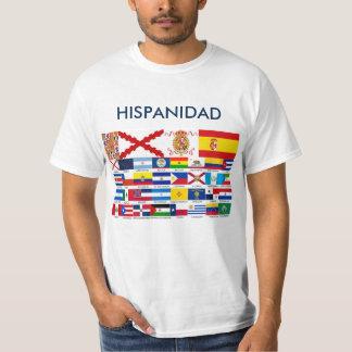 HISPANIDAD orígen y países Camiseta