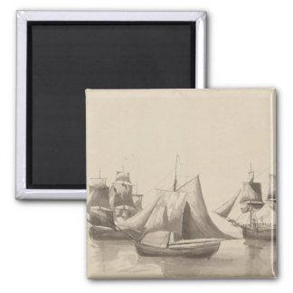 Historia americana - navegación de Halifax Imán